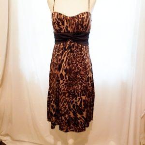 Studio Y Leopard Print Dress Size M